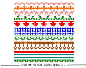 Svg Files Lace Patterns Etsy