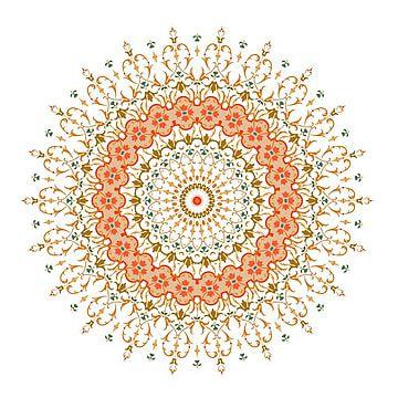 زخرفة ماندالا الخلفية جولة عناصر الديكور خمر ماندالا زخرفة بطاقة Png والمتجهات للتحميل مجانا Tribal Pattern Background Mandala Pink Pattern Background