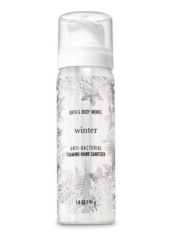 Bath Body Works Winter Foaming Hand Sanitizer Hand Sanitizer