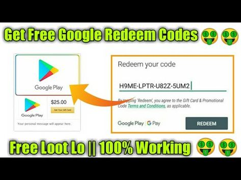 Free Google Play Gift Cards That Really Work In February 2020 On
