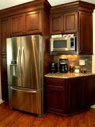 Image Result For Microwave Kitchen Setup By Refrigerator | Microwave  Placement | Pinterest | Fridge, Kitchens And House