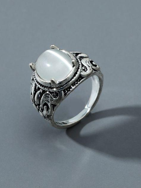Men Engraved Ring