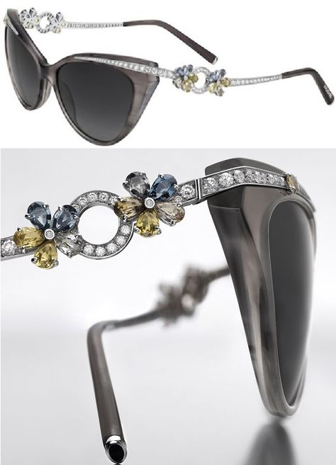 4a6837c1c59 Most  Expensive Sunglasses in the World  Some Costlier than a Ferrari   Bvlgari Flora Sunglasses -  59