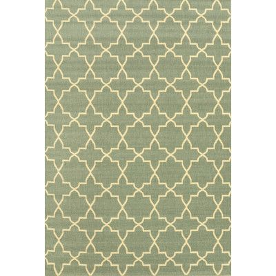 Found it at Wayfair - Mattingly Green Outdoor Area Rug