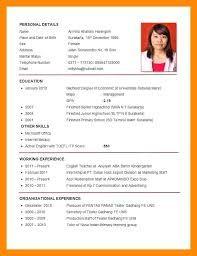 Image Result For Download Cv Pdf With Images Job Resume Format
