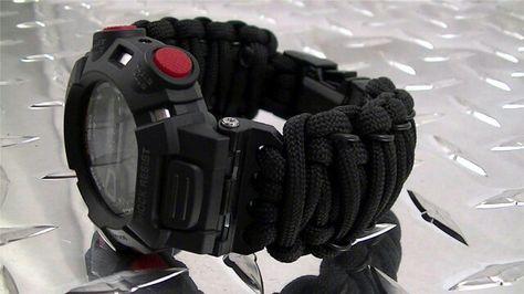 62ca2b80006 Tactical Para-Cord Watch Band 16mm Casio G-Shock