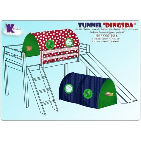 Ebook Kinderzimmer Selber Machen Nahanleitung Tunnel Fur Hochbett