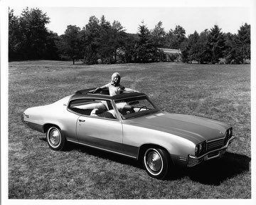 1972 Buick Skylark 350 Sun Coupe Original Factory Photo Buick Buick Skylark Coupe