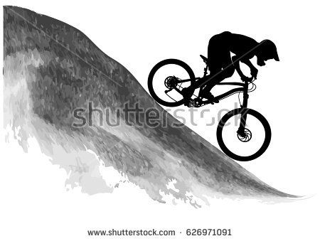 Risultati Immagini Per Tatuajes De Bicicletas Mtb Ilustracion De