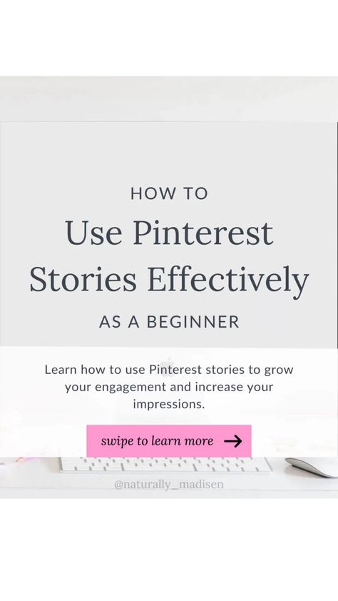 How to Effectively Use Pinterest Story Pins