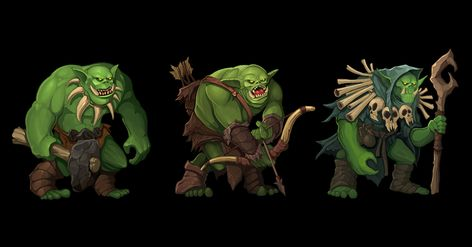 Orcs Army Characters