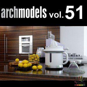 Free down load thư viện 3d max Evermotion Archmodel Vol 51