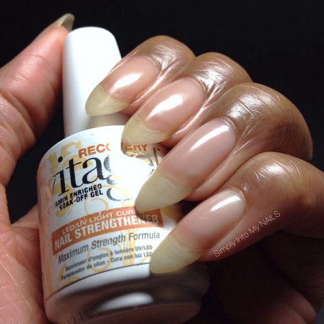 Gelish Vitagel Recovery and Gelish Structure nail strengthener #shield #protect #coat