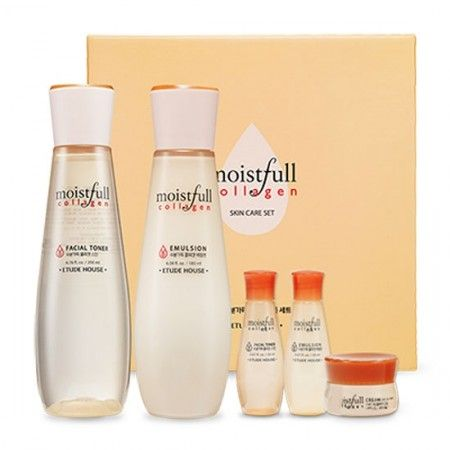 Set Moistfull Collagen Skin Care Set Etude House Moistfull Collagen Collagen Skin Care Moistfull Collagen