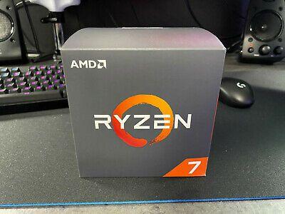 Sponsored Amd Ryzen 2nd Gen 7 2700x 4 3 Ghz Eight Core Processor Wraith Prism Cooler In 2020 Ebay Amd Computer Components