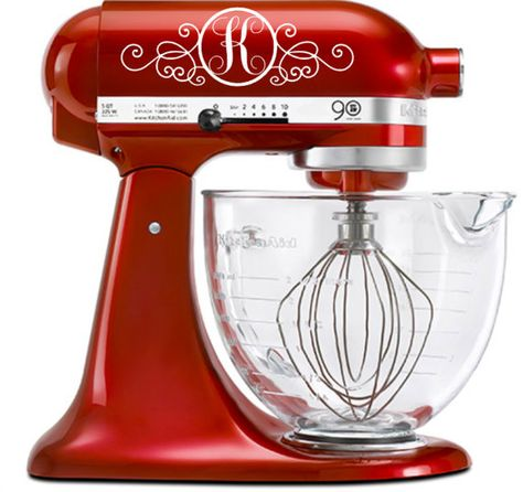 Hey, I found this really awesome Etsy listing at https://www.etsy.com/listing/262653877/fancy-circle-monogram-vinyl-kitchen-aid