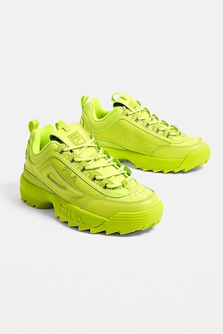 rational construction promotion complimentary shipping FILA Disruptor Premium Green Trainers | Shoes in 2019 ...