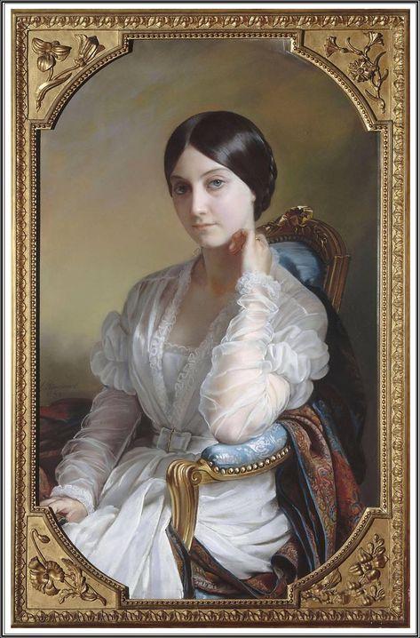portraits 19eme siecle