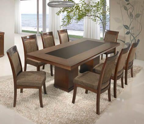 Escolher Mesa De Jantar Com 8 Lugares E Retangular Mesa De