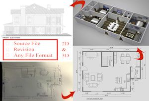 Arsuchismita I Will 2d Drawing Floor Plan Elevation Section And Site Plan For 15 On Fiverr Com Site Plan Architecture Rendering Interior Architecture Design