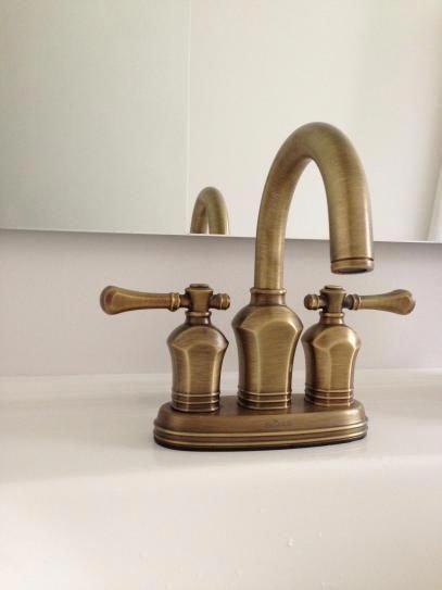 Pegasus Verdanza 4 In Centerset 2 Handle Bathroom Faucet In