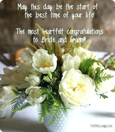 Sample Bride And Groom Best Wishes Quotes Photograph Wedding Wishes Quotes Wedding Day Wishes Wedding Day Quotes