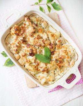 Low Carb Blumenkohl Mascarpone Gratin Mit Hahnchenfleisch Gerichte Mit Avocado Einfache Gerichte Rezepte