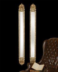 Skinny Mirrors Set Antique Gold Mirror Wall Mirrors Set Mirror