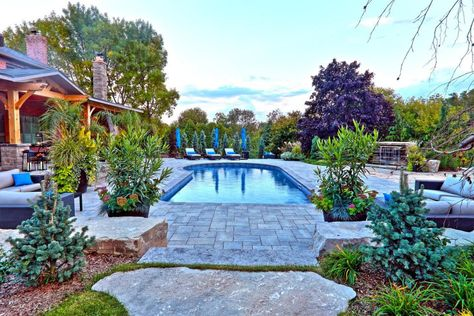 Swimming Pool Design Ideas Backyard Pool Landscaping Pool