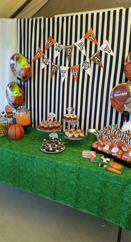 36 Ideas sport day theme birthday parties #sport