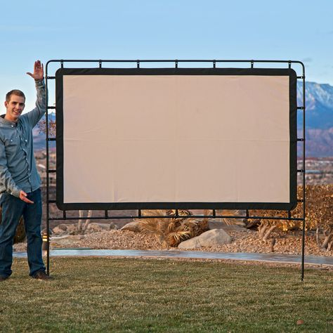 Camp Chef Outdoor Big Screen 92-Inch Lite Portable Movie Screen, Multicolor