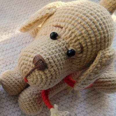 Crochet dachshund dog amigurumi free pattern - Diylist.net in 2020 ... | 400x400