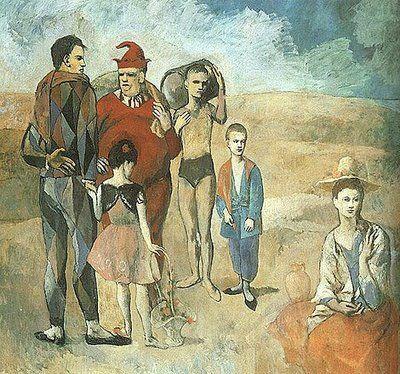 Family Of Saltimbanques 1905 Pablo Picasso Pinturas Artistas Y