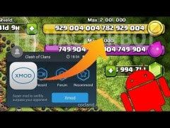 coc xmodgames aplikasi hack game android | android | Android