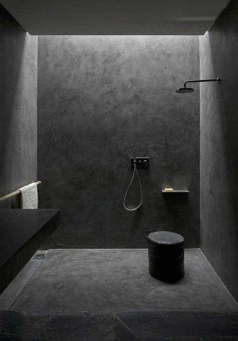 Salle de bain sans carrelage – des alternatives possibles | Salle de ...