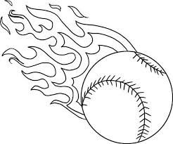 Image Result For Easy Baseball Drawings Baseball Coloring Pages