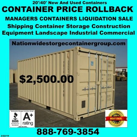 Containers 20 1 Trip New Equipment Shipping Containers Shipping Container Sale 2 40 Used Sh Container Prices Shipping Container Storage Shipping Container