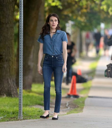 Look of the Day | Fashion, Emma roberts style, Emma roberts