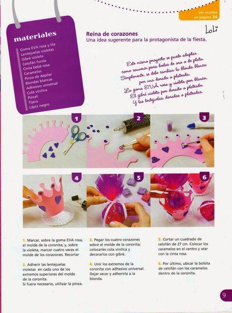 140 Ideas De Foam Manualidades Revistas De Manualidades Gomitas