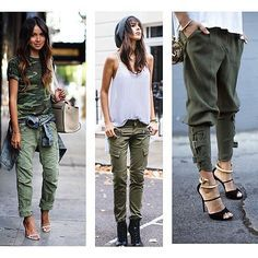 Trend alert !!! O militarismo é uma tendência que sempre está em moda, principalmente para quem se identifica com o estilo, mas agora ele vem com tudo e de todas as formas!!! Bom dia !! #bomdia #militar #estilomilitar #parkas