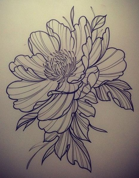 Flower Tattoo Design Flower Tattoo Flower Tattoo Sleeve Sketch Tattoo Design
