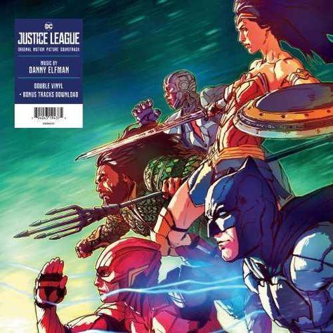 Danny Elfman - Justice League Original Motion Picture Soundtrack Colored Vinyl 2LP