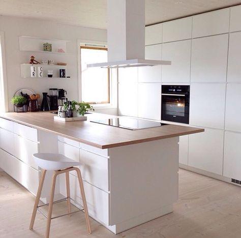 106 best keuken images on Pinterest White kitchens, Kitchen - küche ohne oberschränke