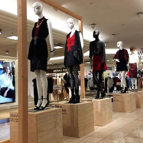 """MACY'S, South Coast Plaza, Costa Mesa, CA, """"Skirts and Stockings and Block Heels!..... Oh My!"""", pinned by Ton van der Veer"""