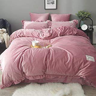 Amazon Com Velvet King Size Bedding Velvet King Size Bed Flannel Duvet Cover Duvet Cover Sets King size flannel duvet cover