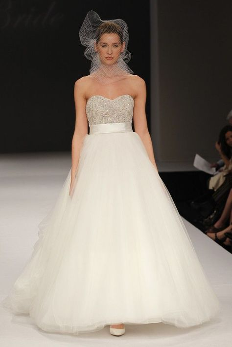 spring 2012 wedding dressesbadgley mischka | weddings
