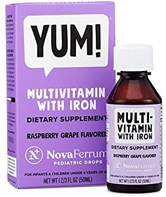 Amazon Com Novaferrum Multivitamin With Iron For Infants And Toddlers Health Personal Care In 2020 Multivitamins With Iron Multivitamin Best Multivitamin