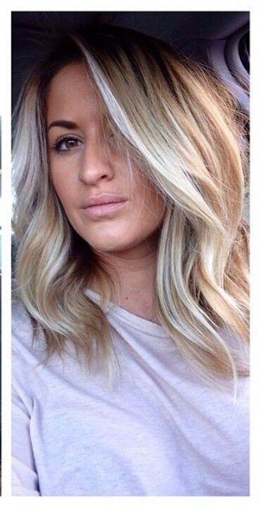 Schlusselbein Haarlange Hair And Beauty Haar Ideen Haare