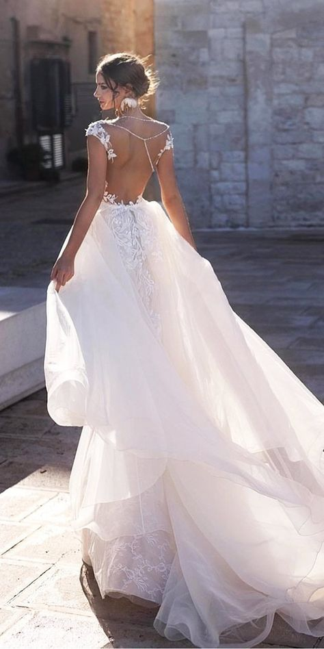 30 Sophicticated Backless Wedding Dresses   Page 6 of 11   Wedding Forward