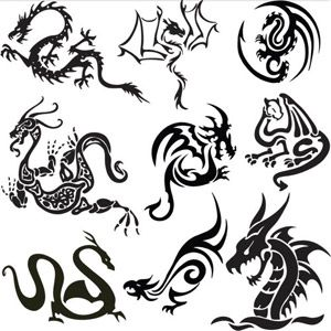 Norwegian dragon tattoo ideas